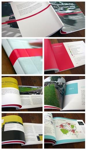 Foto's van brochure 'Gebiedsgericht Benutten plus Duurzaam Veilig'