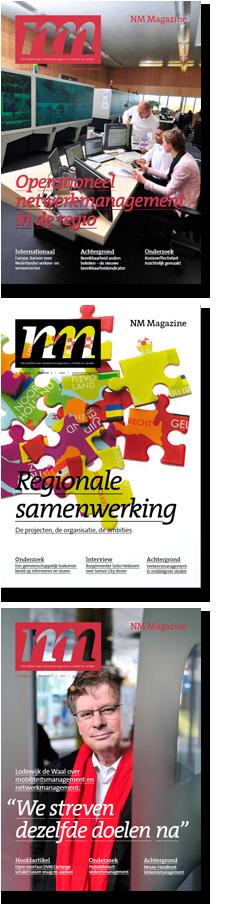 Enkele covers van NM Magazine